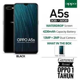 Oppo A5s Ram 3GB Rom 32GB garansi resmi oppo 1 tahun