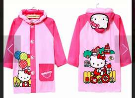 JAS HUJAN ANAK PINK HELLO KITTY