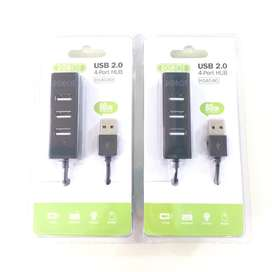 N E W  ROBOT Usb HUB 4 port 2.0 untuk Laptop/PC/Notebook/Netbook