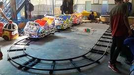 odong odong mobil kereta mini roller coaster rel bawah lantai full fib