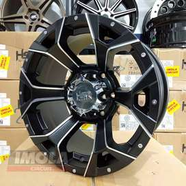 Velg mobil racing style offroad r16 HSR wheel Arguni pcd 6x139,7