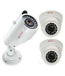 CP PLUS CCTV 3 set camera
