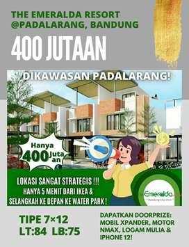 START FROM 400M! RUMAH 2 LANTAI FREE SHM @PADALARANG, BANDUNG