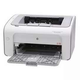Printer laserjet in good condition with bill