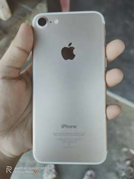 I Phone 7 ( 4 months only ) with good battery health ,no scratches ,