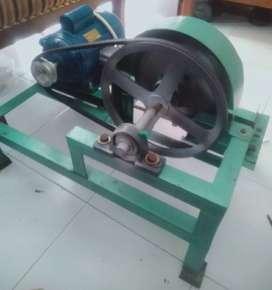 (trima tt),mesin perajang tempe+pakai dinamo 1/4 hp