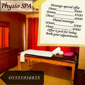 Physio spa in Bahria town phase4 palaza 71 first floor