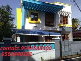 6 cent plot with 2350 sq.ft 4BHK house in kollam ramankulangara