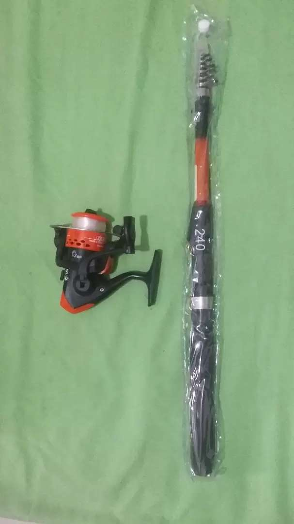 Nego Paket Rod 3 Meter and Reel