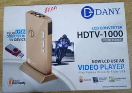DANY LCD Converter: HDTV-1000 Video Player (Cable TV Device)
