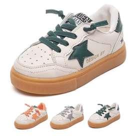 Sepatu Srek Sport Sneakers Kids Shoes Non LED Sepatu Anak Size 27