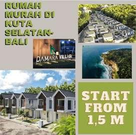 Pashe 2! Rumah indent 12 bln di Damara Village Jimbaran Bali 1,5 M-an!