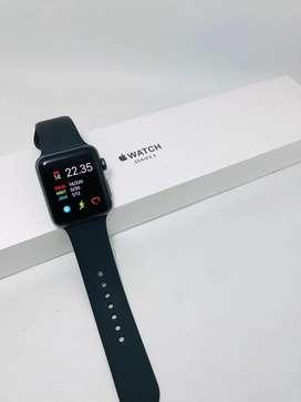 Apple Watch Series 3 42mm garansi juni 2020