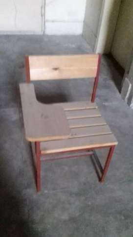 Office table and college chair