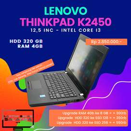 Second Laptop Thinkpad K2450 Intel Core I3 Ram 4GB
