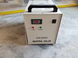 Used CW 3000 industrial Chiller , S&A Original