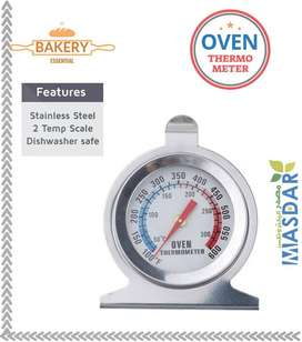 Kitchen Care portable Stainless Steel Stand Up Dial Oven Thermometer