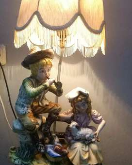 Lampu capodimonte italy