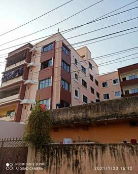 2BHK newly constructed and semi furnished flat for family.