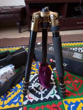 Tripod Triopo Black and Gold