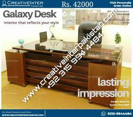 Executive Office Table Desk Counter  study computer chair workstation