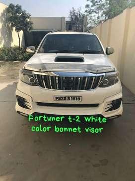 Innova Fortuner Isuzu Scorpio Pajero sport Bonnet visor