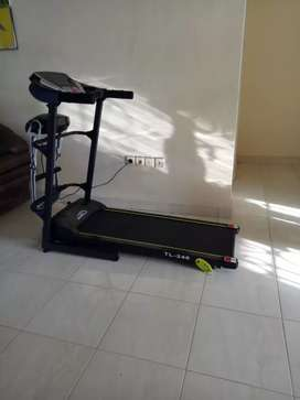 Treadmill elektrik termurah 4 FUNGSI gratis antar tujuan