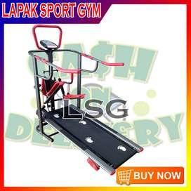 Alat Olahraga Fitness Treadmill Manual TL 003