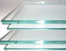 Glass transparent Sheesha 1cm 10mm Thick Table green tint