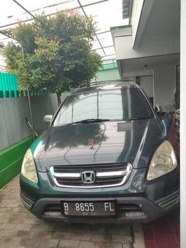 DIJUAL B.U MOBIL CR-V 2003 Murah Langsung Owner. Minat test drive