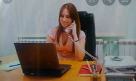 Good looking Female as office PA