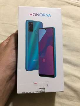 Honor 9A fully packed with warrenty 1 year