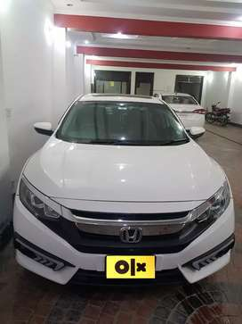 Honda Civic 27 Paid 60000 installmint Bank Leased