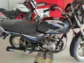 Bajaj CT 100  blue black