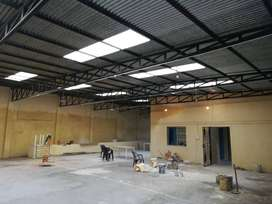 A 13000 sq ft Godown space at tatisilwai is available for rent.