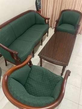 Sofa Set Kayu Jati! MURAH! WAJIB LAKU!