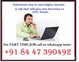 If you have typing skills and want urgent job then call me here. direc