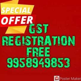 GST REGISTRATION FREE