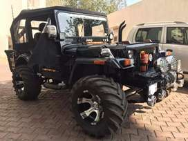 Mahindra jeep diesel modiefied for sale