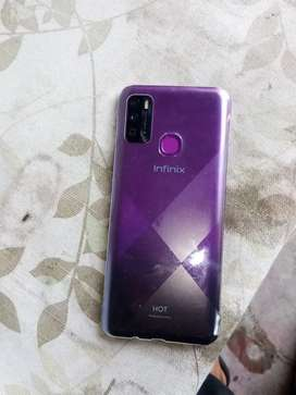 Infinix hot 9 3/64gb for sale only two weeks used