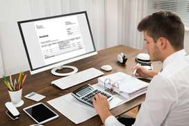 Accountant & Receptionist job availability for males and females