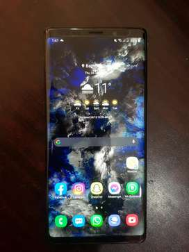 Samsung note 9 6GB 128GB DOTED