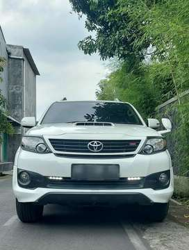 GRAND NEW FORTUNER VNT TRD SPORTIVO Automatic TAHUN 2015,plat AB
