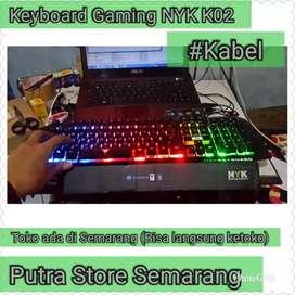 Keyboard Gaming NYK 02 Keyboard External Laptop dan PC