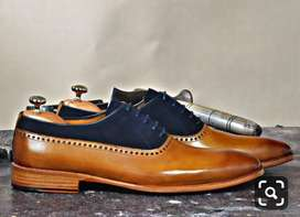 Men's designer leather shoes