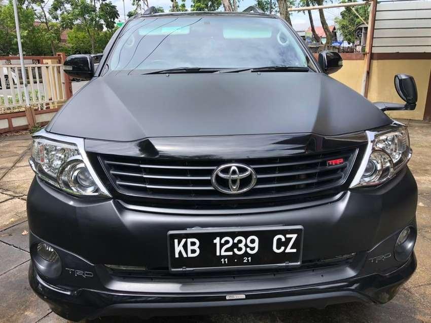 Toyota Fortuner TRD Sportivo Th 2014 Facelift KB 0