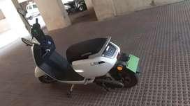 Electric bike Okinawa lite - removable battery