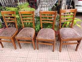 Kursii 4 piece shagon chair
