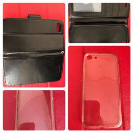 Flip & Clear Soft Case Iphone 7