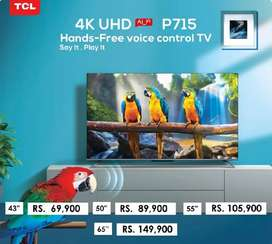 TCL 55P715 UHD 4K Smart Android LED TV